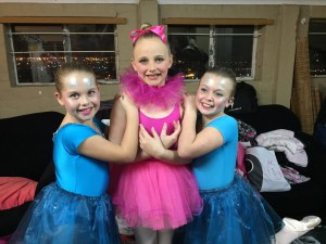 Isabella, Casey and Ashleigh