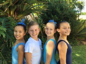 Grade 2 Cassidy, Einon, Kaitlynne and Desmare