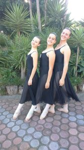 Grade 6 Ballet Holly, Sarah and Lisa Marli